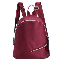 Nylon Zips Backpack -