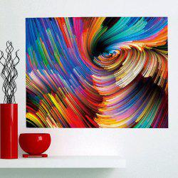 Colorful Space Patterned Multifunction Removable Wall Art Painting -