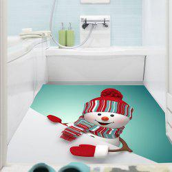 Multifunction Christmas Snowman Pattern Wall Sticker -