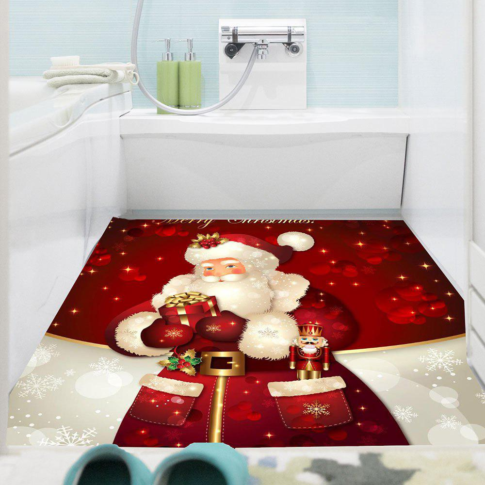 Discount Multifunction Santa Claus Gifts Pattern Wall Art Sticker