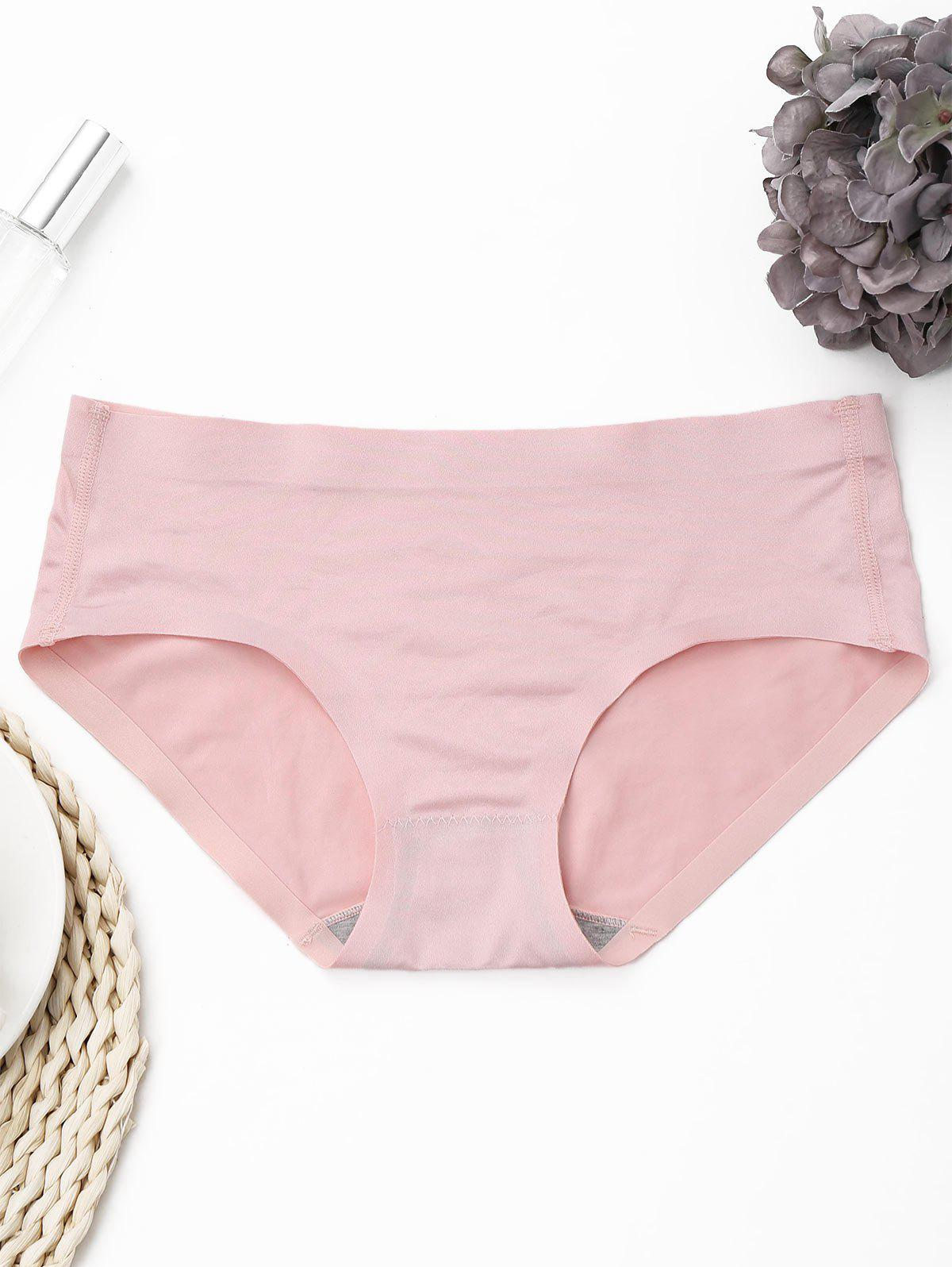 Chic Seamless Mid Rise Panties