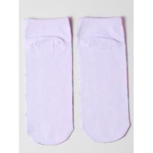 Ankle Socks with Cartoon Unicorn Pattern - LIGHT PINK