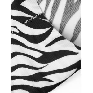 Seamless Zebra Pattern Panties -
