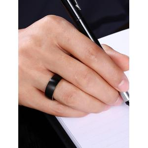 Alloy Circle Vintage Finger Ring - Or 7