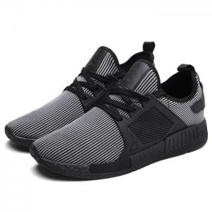 Slip-resistant Ventilation Low-top Mesh Sneakers - STRIP PATTERN 43