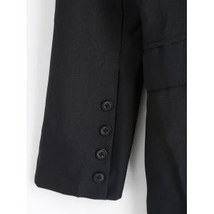 Double Breasted Blazer - BLACK M