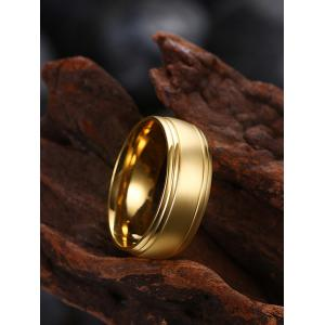 Circle Finger Alloy Ring -