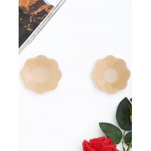 Floral Shape Adhesive Nipple Sticker -