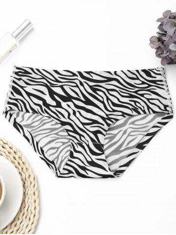 Sale Seamless Zebra Pattern Panties