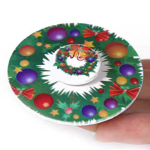 Shop Christmas EDC Toy Round Hand Spinner