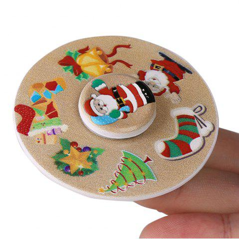 Trendy Christmas EDC Toy Round Hand Spinner