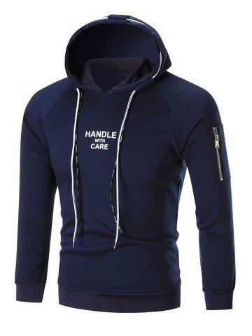 Handle with Care Graphic Pullover Hoodie