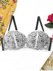 Push Up Lace Full Cup Bra -