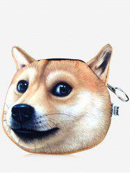 Funny 3D Pattern Dog Coin Purse -