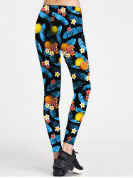 Floral Colorful Sport Leggings -