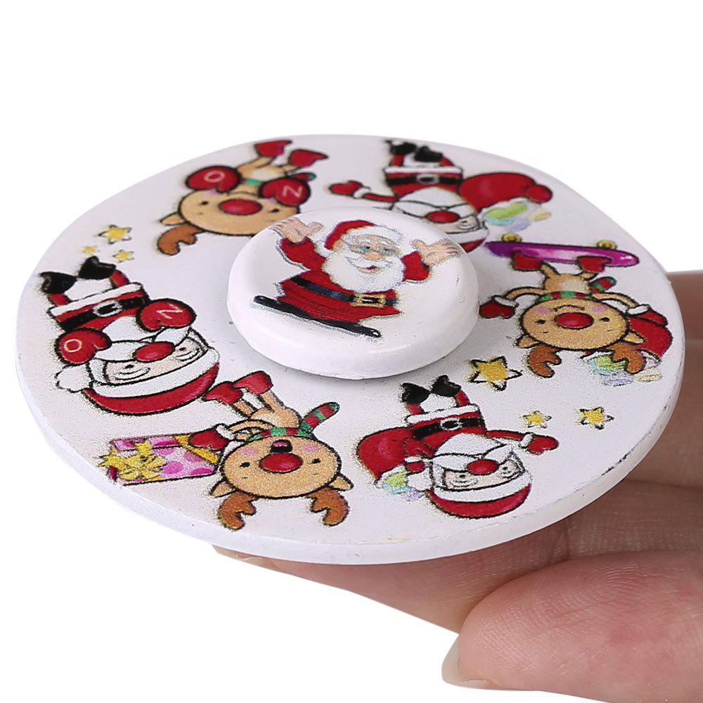 Fancy Christmas EDC Toy Round Hand Spinner