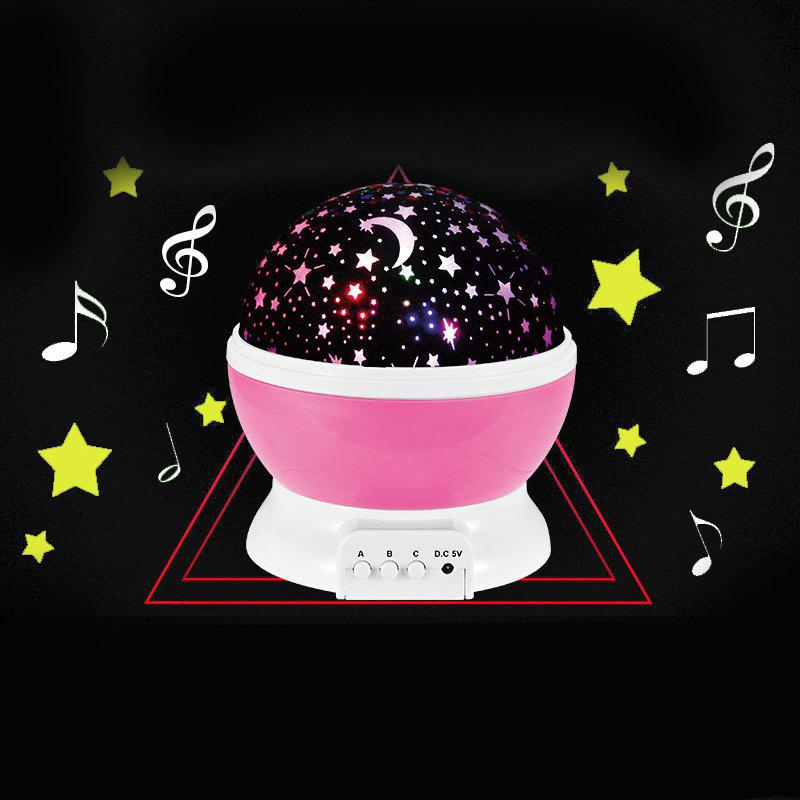 Shop Rotary Flashing Starry Sky Music Decorative Novelty Lamp