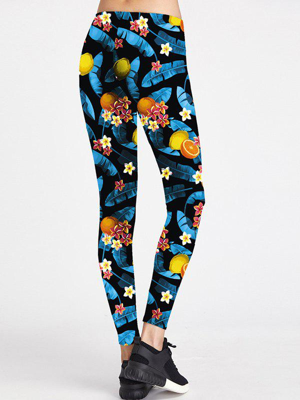 Hot Floral Colorful Sport Leggings