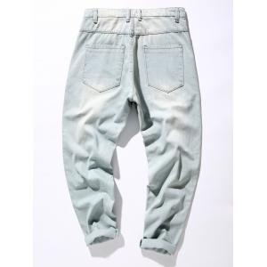Loose Fit Harem Neuf Minutes of Jeans - Bleu clair 34