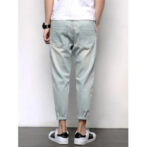 Loose Fit Harem Neuf Minutes of Jeans - Bleu clair 40