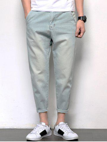 Loose Fit Harem Neuf Minutes of Jeans Bleu clair 34