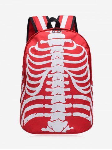 Hot Skull Striped Noctilucence Backpack