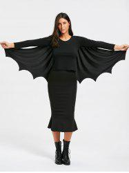 Halloween Batwing Cosplay Costume Cape -