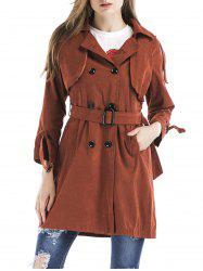 Double Breasted Trench Coat -