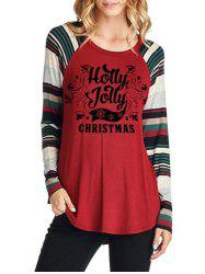Christmas Tunic T Shirt -
