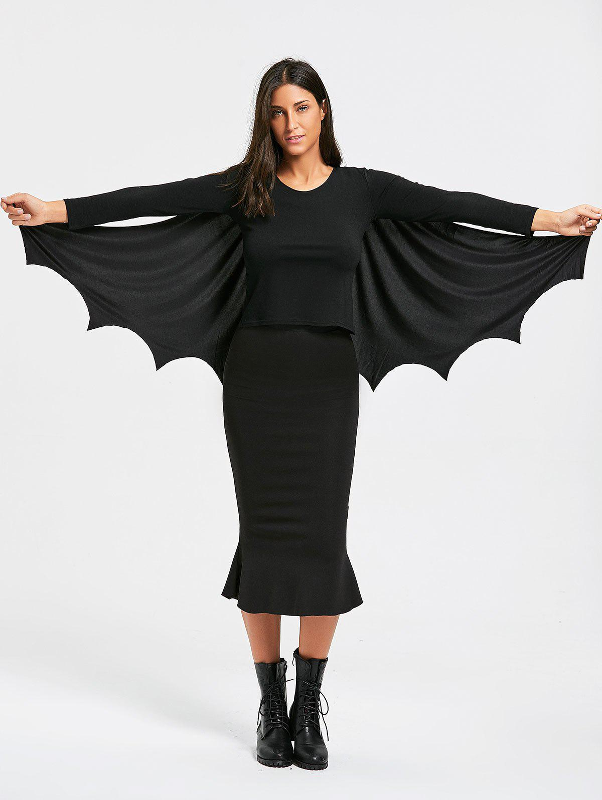 Chic Halloween Batwing Cosplay Costume Cape
