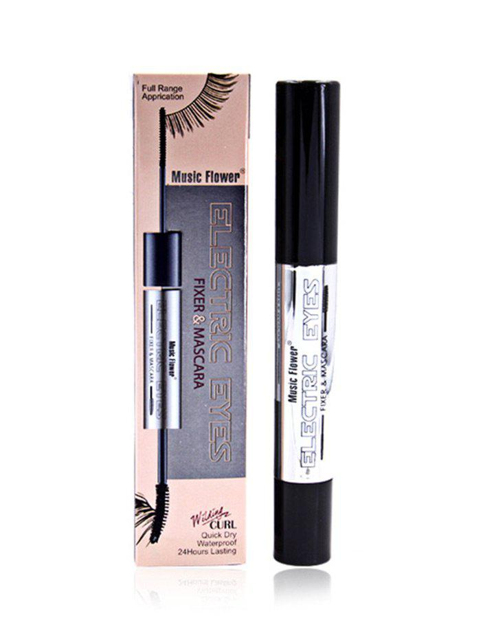 Not Dizzy Long Lasting MascaraBEAUTY<br><br>Color: BLACK; Category: Mascara; Type: Liquid; Features: Eco-friendly,Limits Bacteria; Season: Fall,Spring,Summer,Winter; Weight: 0.0800kg; Package Contents: 1 x Mascara;