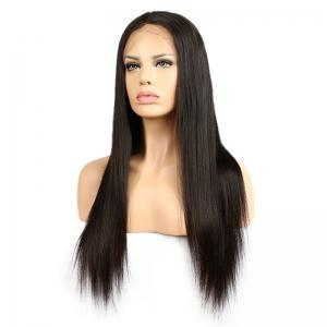 Long Center Part Straight Synthetic Lace Front Wig -