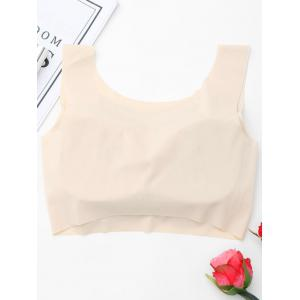 Full Coverage Padded Seamless Bra - COMPLEXION XL