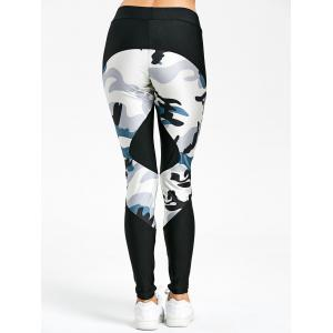Leggings de camouflage -