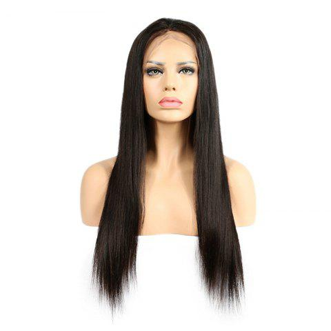 Store Long Center Part Straight Synthetic Lace Front Wig