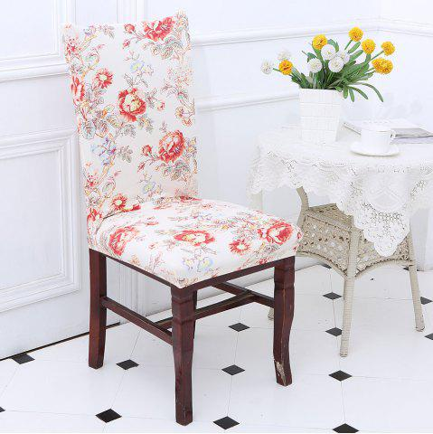 Fashion Removable Floral Pattern Elastic Chair Cover