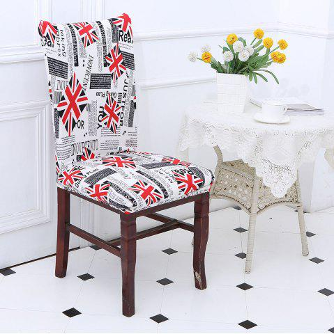 New Union Jack Pattern Elastic Removable Chair Cover