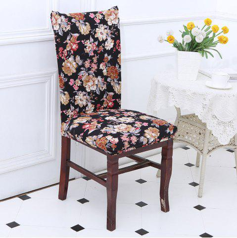Fashion European Style Flowers Pattern Elastic Chair Cover