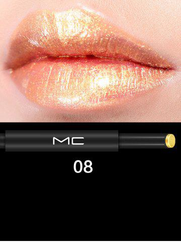 Hot Long Lasting Multipurpose Moisture Press Lipstick #08