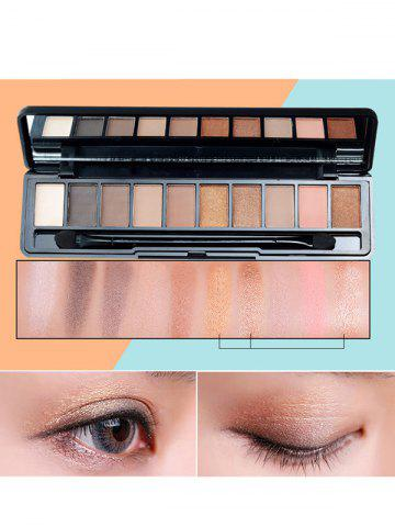 Best 10 Colors Beauty Makeup Eyeshadow Kit With Brush