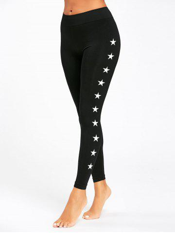 Outfit Stars Printed Active High Waist Leggings