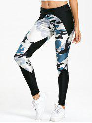 Leggings de camouflage - Multicolore XL