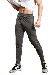 Zip Pocket Casual Jogger Pants -