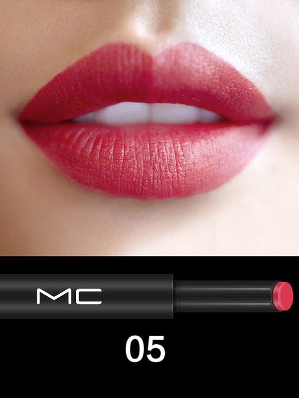 Long Lasting Multipurpose Moisture Press LipstickBEAUTY<br><br>Color: #05; Category: Lipstick; Type: Cream; Features: Eco-friendly,Limits Bacteria; Season: Fall,Spring,Summer,Winter; Weight: 0.0800kg; Package Contents: 1 x Lipstick;
