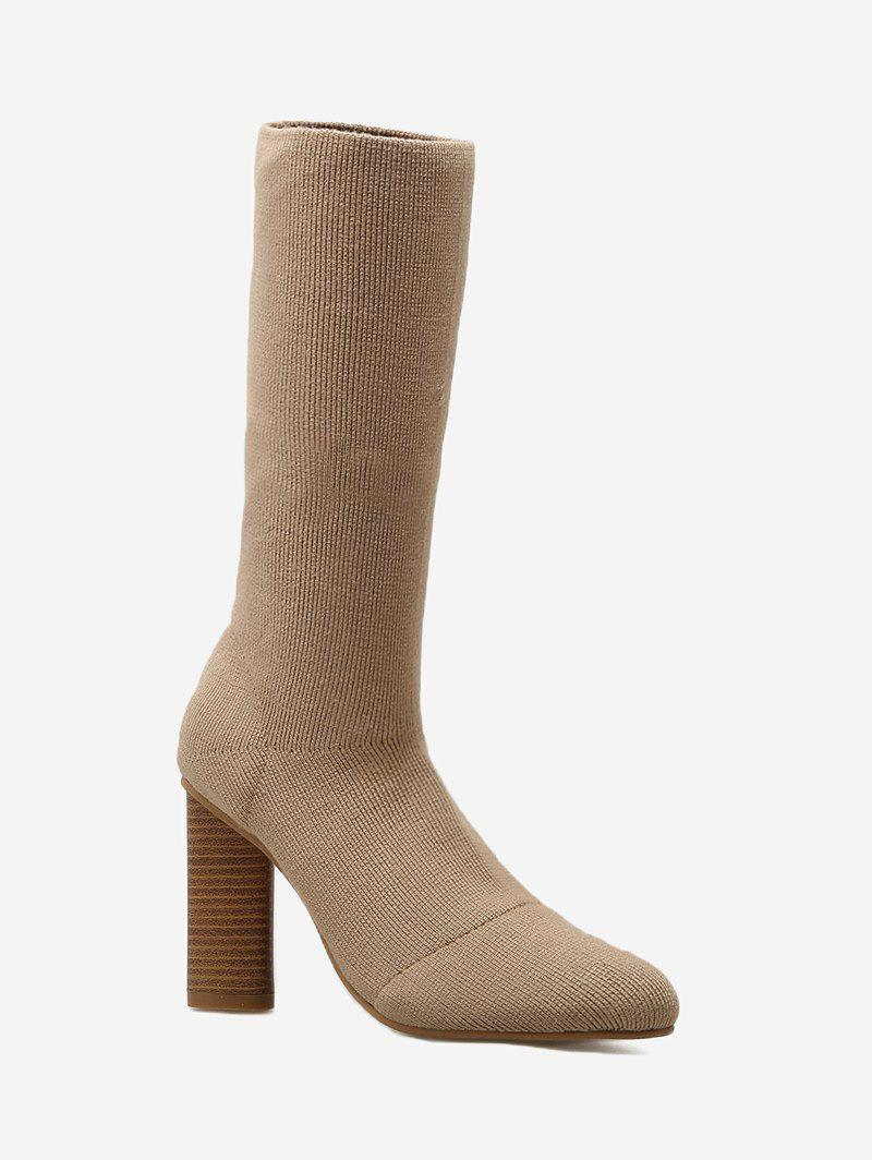 Online Ankle Short Chunky Heel Boots