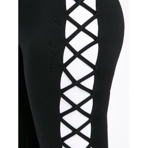 Leggings Slim Slim Criss Cross -