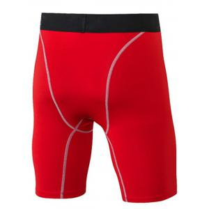Quick Dry Stretchy Fitted Fitness Jammer Shorts - RED 3XL
