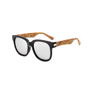 Full Frame Design Marble Grain Legs Mirror Sunglasses -