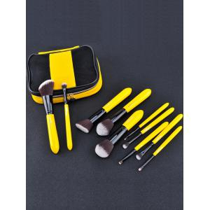 Ensemble de brosse 10pcs Two Tones Make Up -