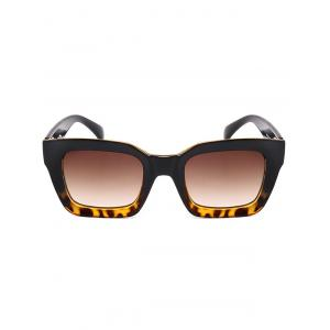 Protection UV Extérieure Full Frame Square Sunglasses -